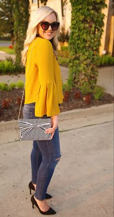 Skirts For Women – My WordPress Website Chic Outfits, Fashion Outfits, Spring Outfits, Fashion Ideas, Fashion Inspiration, Fashion Trends, Reunion Outfit, Mustard Yellow Outfit, Professional Outfits
