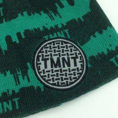 29c82219f6511 TMNT Teenage Mutant Ninja Turtles Kids Winter Beanie Hat Cap Nickelodeon  Sewer Lid Logo  Nickelodeonhat