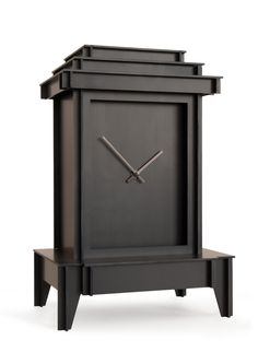 ProjectJoost.com - Joost van Bleiswijk collection | One More Time Little Clocks | black anodized