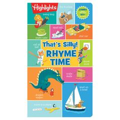 Foldout-fun Pzzle Books Thats Silly Rhyme Time Highlights