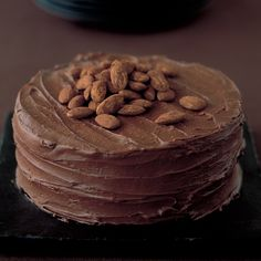 Chocolate chocolate fudge cake