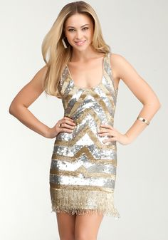Stylish Bebe Contrast Dresses for NASCAR Widows