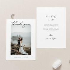 Photo Wedding Thank You Cards - Wedding Thank You Notes - Template - Add Own Photo Thank You Card Printable Thank You Card Modern Thank You , 1566 x 1566 Hochzeit T&J. Thank You Note Template, Printable Thank You Cards, Notes Template, Templates, List Template, Thank You Photos, Photo Thank You Cards, Photo Cards, Unique Wedding Favors