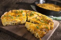 Delicious Beef Cheese Pan Quiche is a Wonderful Thin Pie Beef Cheese Pan Quiche is a Fabulously Delicious Recipe Beef Quiche, Cheese Quiche, Frittata, Best Egg Recipes, Beef Recipes, Cooking Recipes, Favorite Recipes, Pan Cooking, Recipies