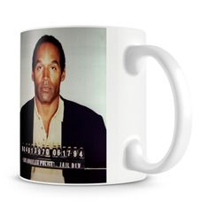 OJ Simpson Mug Shot Mug - Only £8!!