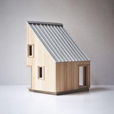 Architecture Visualization, Architecture Drawings, Modern Architecture, Architecture Model Making, Architecture Concept Diagram, Modern Barn House, Floor Plan Drawing, Arch Model, Architect Design