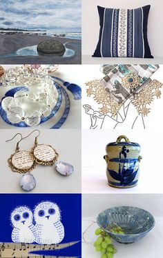 Beautiful Blue by Chrissy Mason on Etsy--Pinned with TreasuryPin.com