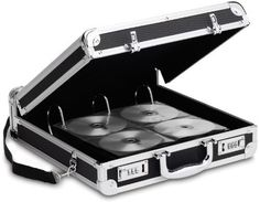 Locking Media Binder - 200 Capacity Case Pack 2 by Vaultz(R). $109.98. Your CDs are important. They are your work, your play, your memories....your life! So store and transport them securely in the Vaultz® Media Binder!