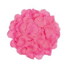 Hot Pink Rose Petals - OrientalTrading.com