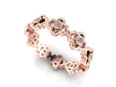 wedding eternity, wedding band, Vintage Band, ETERNITY BAND, Diamond Bands - Engagement Rings
