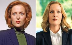 The X-Files' Gillian Anderson: Why I'm wearing a wig to play Scully   EW.com