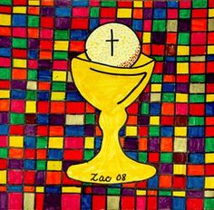 Check out student artwork posted to Artsonia from the First Communion Stained Glass project gallery at St. Cox And Cox, Catholic School, Kids Artwork, Stained Glass Projects, First Holy Communion, Art Lesson Plans, Art Portfolio, Primary School, Art Museum
