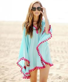 Swimsuit Cover up, 51 Projects That Will Make You Bust Out the Sewing Machine via Brit + Co.