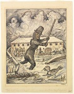 View Der Robbenschläger Seals Thug by Alfred Kubin on artnet. Browse more artworks Alfred Kubin from Galerie Henze Ketterer Triebold. Picasso, Alfred Kubin, Global Art, Art Market, Illustration, Vintage World Maps, Artwork, Painting, Things To Sell