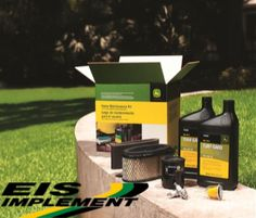 Tune-up Your John Deere yourself with Ease and Confidence with a Home Maintenance Kit.  Shop now at eisimplementinc.com