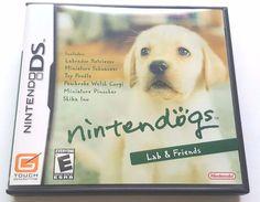 Nintendo DS Dsi Dsl Complete Game NINTENDOGS LAB & FRIENDS