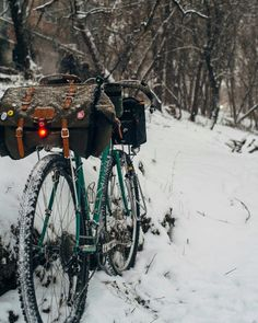 The cycling life Touring Bike, Offroad, Cycling, Around The Worlds, Snow, Adventure, Bicycles, Outdoor, Biking