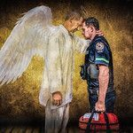 Emergency Services artwork for sale by DanSun Photo Art. Browse images that have been inspired by real events experienced by the artist. Images can be purchased as prints on canvas, paper or metal. Emergency Medical Services, Emergency Response, Paramedic Quotes, Paramedic Tattoo, Paramedic Gifts, Flight Nurse, Firefighter Paramedic, Volunteer Firefighter, Monkey Mind
