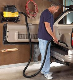 5-Gallon Portable Wet/Dry Shop Vacuum is durable and easy to transport.