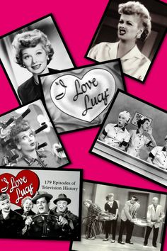 Call me an old soul if you will, but I adore I Love Lucy and Lucille Ball!  My fav show ever!