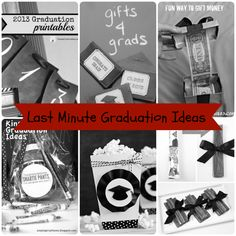 Last Minute Graduation Ideas