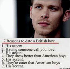 See Caroline, it's better than an american werew... Oops I mean an american boy.