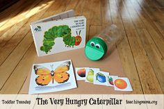 Toddler Tuesday: The Very Hungry Caterpillar