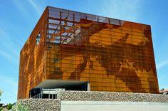 INSTITUT GEOLÒGIC DE CATALUNYA | IGC with Multiperforated Corten Steel by Architects Oikosvia Arquitectura