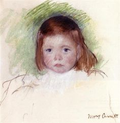 Portrait of Ellen Mary Cassatt - Mary Cassatt