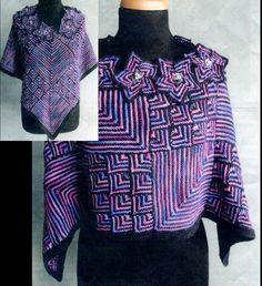 Koigu Shawlette Kit by Nicky Epstein - Got Yarn! Got Kits! Get Knitting!