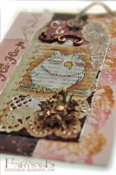 altered art, use old newspaper instead of antique books