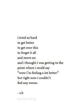 Broken inside