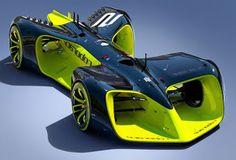 PcPOwersTechnology: Roborace: Αγώνες ταχύτητας με αυτόνομα super cars