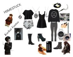 """""""Karkat"""" by raven-is-awesome on Polyvore"""