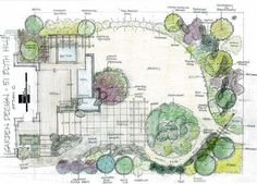 Planning A Garden Layout Landscapes Design Drawings From Our Portfolio Of Garden  Designs Architectural Landscape Design