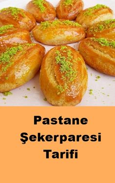 Pastane Şekerparesi - Pastry Confectionery - The pumpkin # Turkish Recipes, Ethnic Recipes, Pastry Cake, Sweet And Salty, Confectionery, Yummy Cakes, Baked Potato, Cake Recipes, Bakery