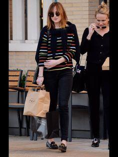 Dakota shopping in LA 12/4/15