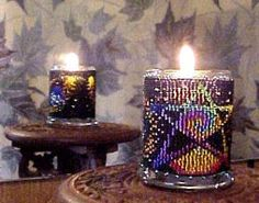 Beaded Star Dust Candle Holder Pattern and Kit. (Click on the picture to see this item on our website). $17.95