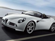 Alfa Romeo 8C Spider models - http://autotras.com