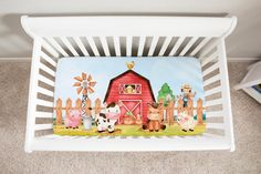 Farm Nursery, Nursery Crib, Nursery Bedding Sets, Crib Bedding, Baby Room Themes, Nursery Themes, Themed Nursery, Baby Rooms, Nursery Decor