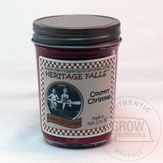 Heritage Falls Candles Country Christmas Half Pint Soy Candle