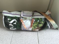 tas van zeildoek, iedere tas is uniek!