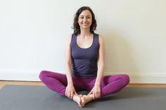 Yogastern Stefanie Weyrauch im Schmetterling