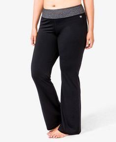Heathered Athletic Pants | FOREVER21 PLUS - 2027705068