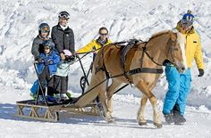 Prince Joachim of Denmark's children during theirwinter holiday at Swiss 2015