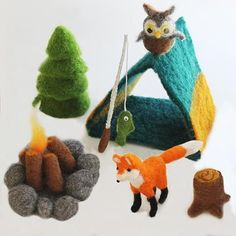Camping World - Felting Kit #needlefeltingtutorials