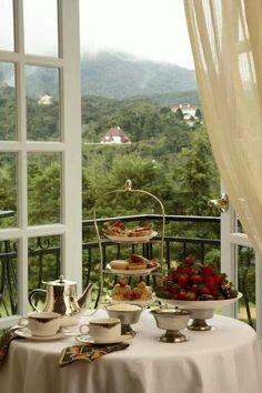 Desayuno  maravilloso.