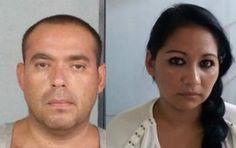 Detienen a pareja con armas cartuchos y droga