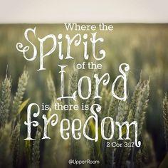 2 Corinthians 3:17   https://www.facebook.com/photo.php?fbid=10152532306838151