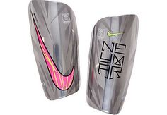 Nike Neymar Mercurial Lite Shin Guards - Chrome